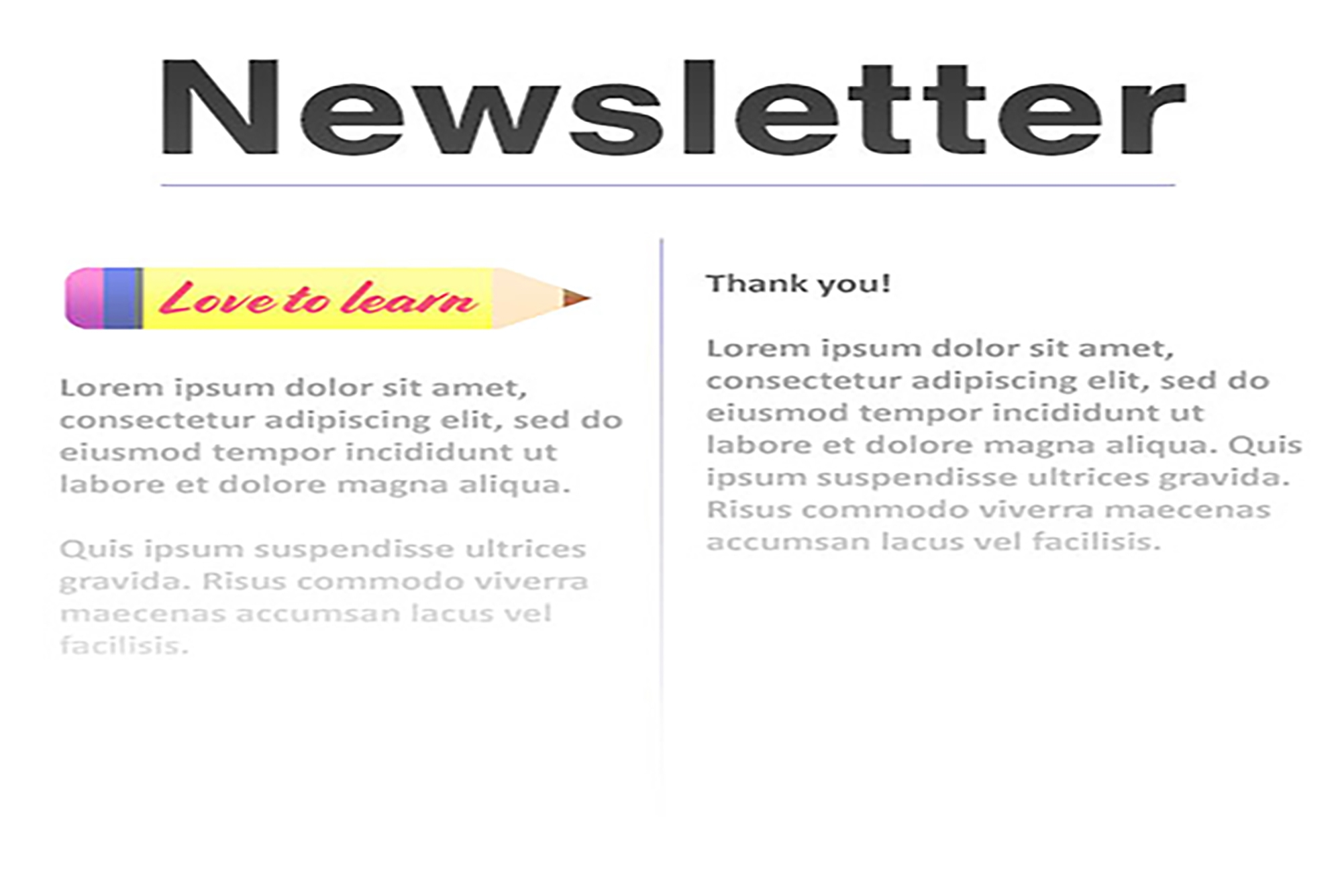 Sign up for our termly newsletter