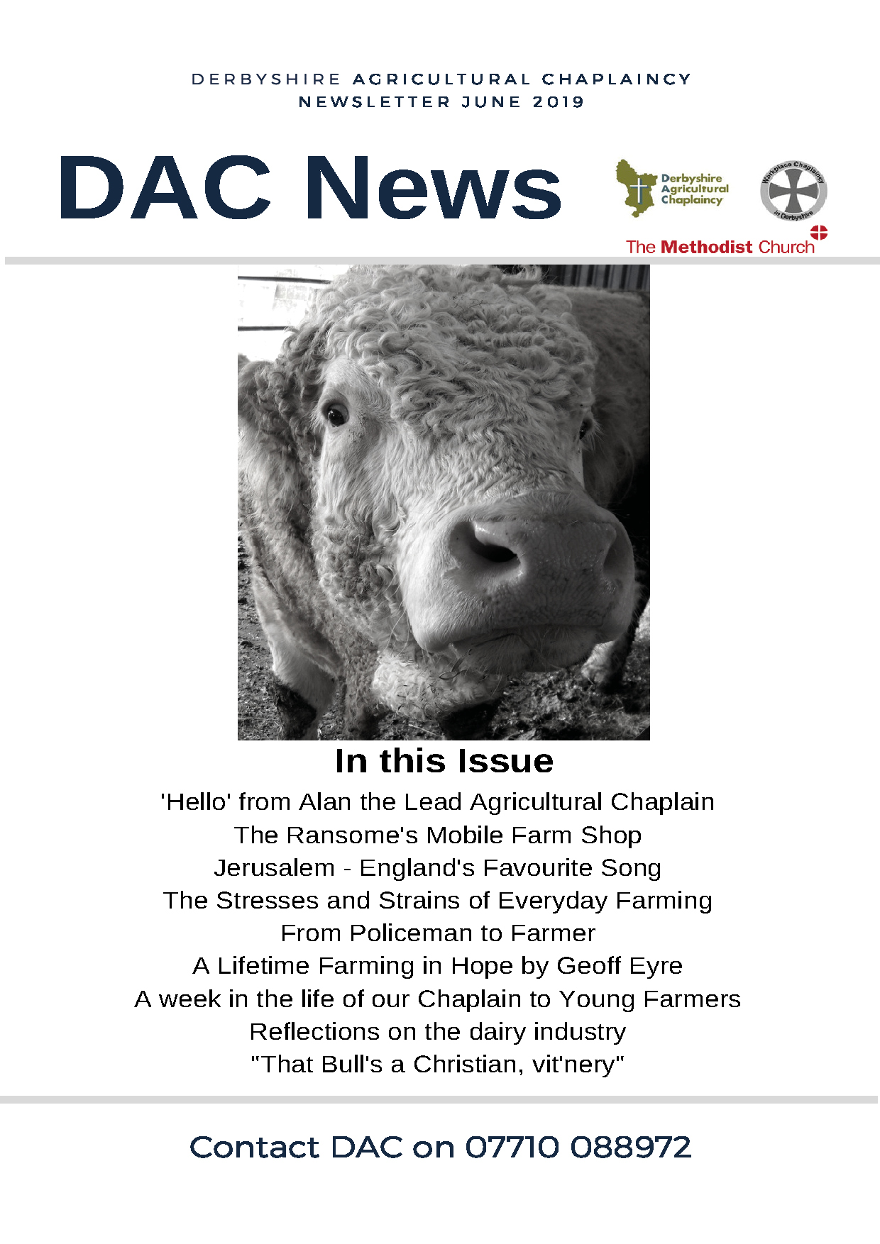 DAChaplaincy June 2019 Newsletter