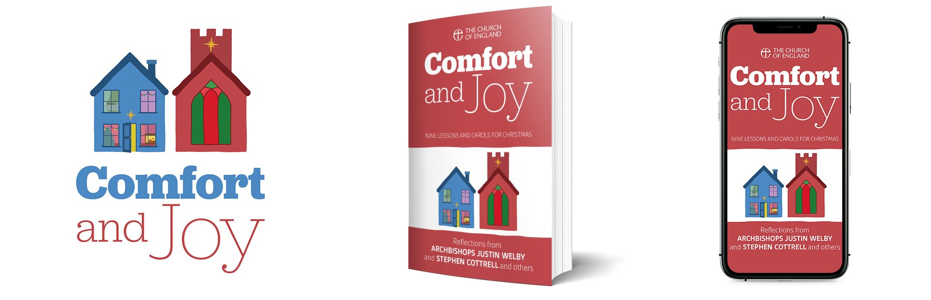 Comfort and Joy book and app