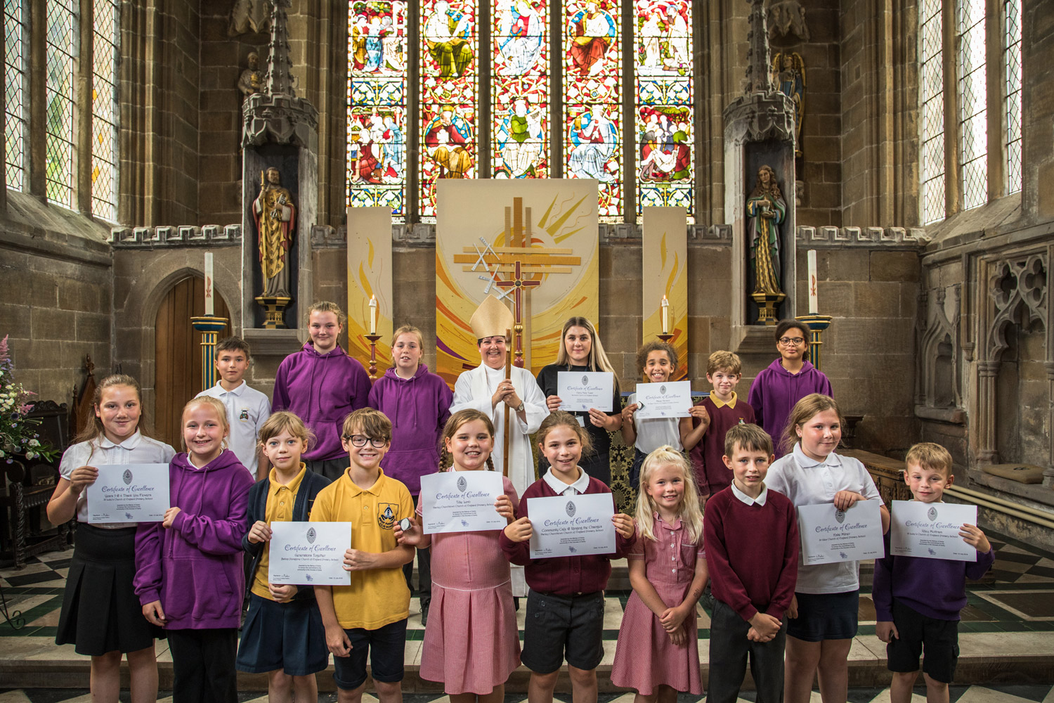 Tideswell Badge awards