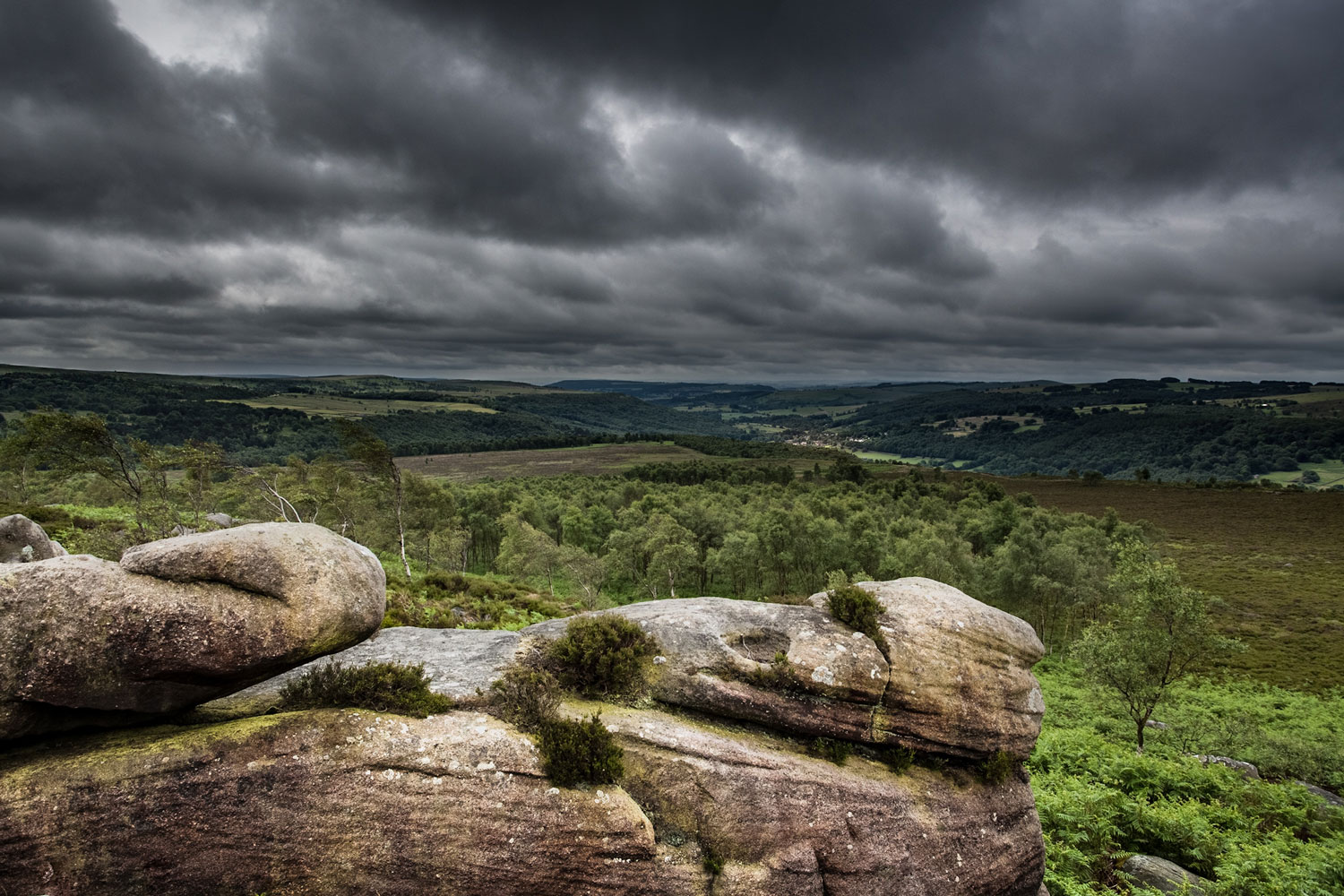 Derbyshire Peak District - a general view