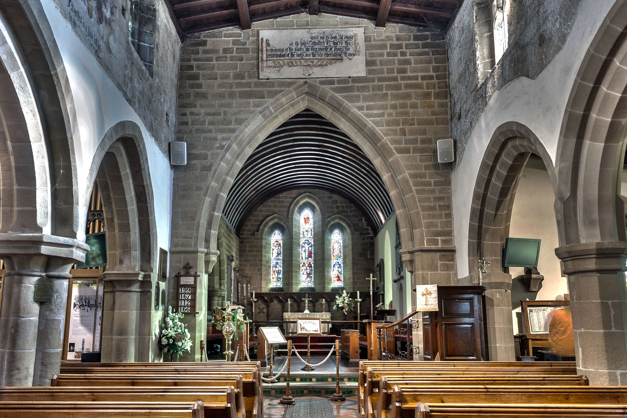 eyam church HDR2a web res
