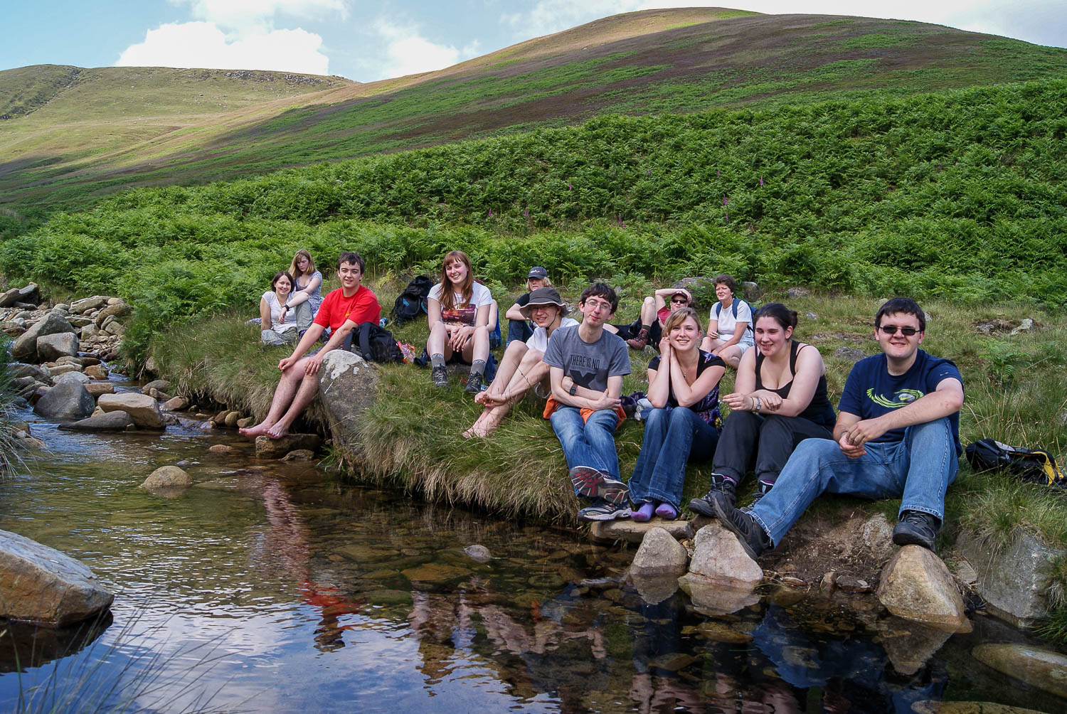 peak centre edale walkers