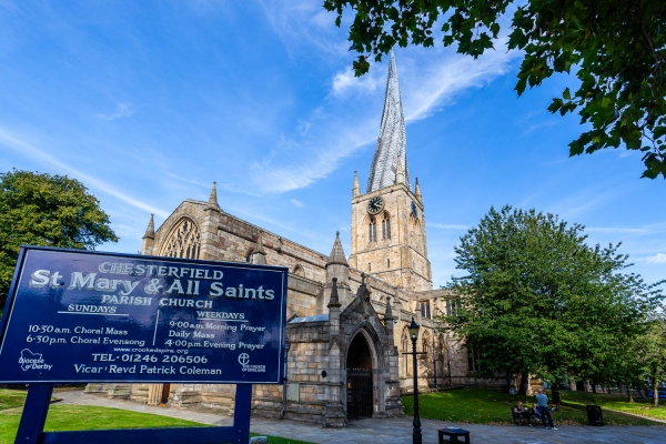 Chesterfield's Crooked Spire: Mission with a Twist