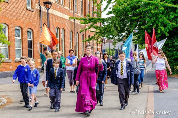 Bishop Libby starts ministry as Bishop of Derby