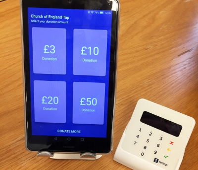 Contactless collections