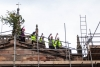 Topping out: Bishop Libby blesses Wirksworth's new roof