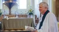 Peter Robinson installed as Dean of Derby