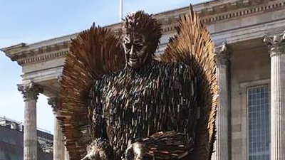 Cathedral to host Knife Angel in Derby